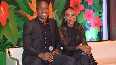 Switch TV's Tony Kwalanda and Colleague Joyce Maina engaged (Photos)