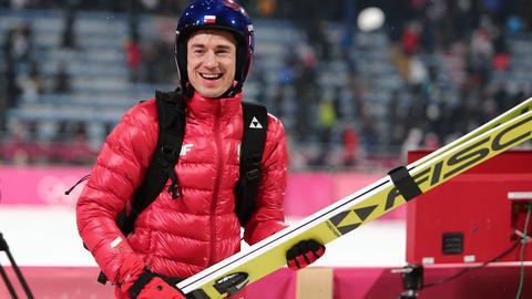 Kamil Stoch na igrzyskach w Pjongczanu zdobył pierwsze złoto dla Polaków
