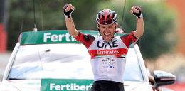 Piękna solowa akcja Rafała Majki. Polak wygrał 15. etap Vuelta a Espana!