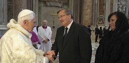 Anna Komorowska prosiła papieża o...