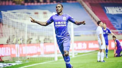 Odion Ighalo says goodbye to Chinese club Shanghai Shenhua ahead of the imminent move to Saudi Arabia