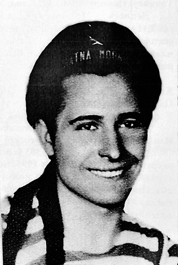 Ranko Pančić kao mornar 1954.