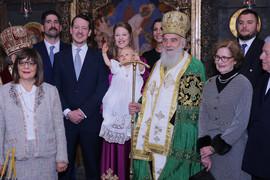 FOTOGRAFIJE SA KRALJEVSKOG DVORA Kršten mali princ Karađorđević, nosio odelo iz 1923. godine, pogledajte kako je izgledala PRINCEZA!