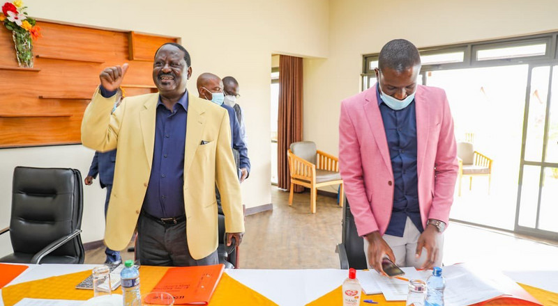 Raila declares war during meeting with ODM party officials