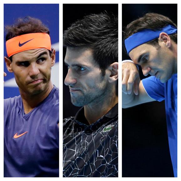 Još dugo ćemo gledati mečeve ove trojice tenisera