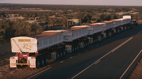 Nowy Land Rover Discovery jest w stanie uciągnąć 110 tonowy pociąg drogowy