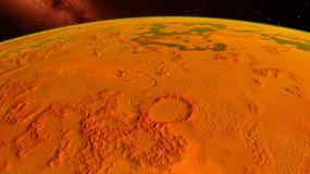 """""""Kopuła"""" na Marsie - czy to budowla obcych?"""