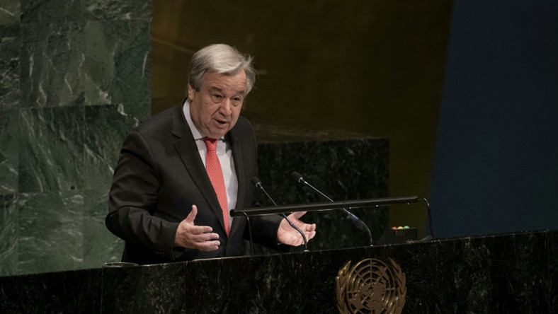 UN Secretary General Antonio Guterres (AFP)