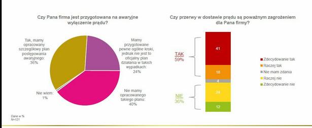 Jak polskie firmy są przygotowane na przerwy w dostawie prądu