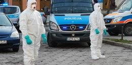 Mężczyzna z grupy ryzyka wyszedł z białostockiego szpitala. Musiała interweniować policja