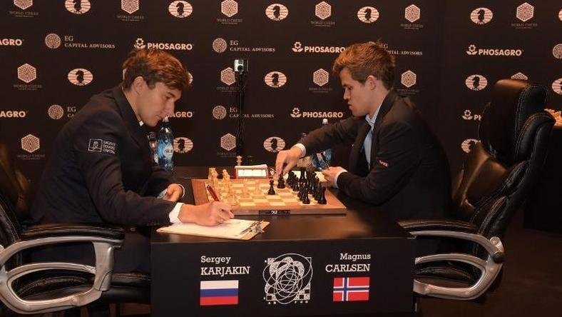 2016 World Chess Championship - November 12