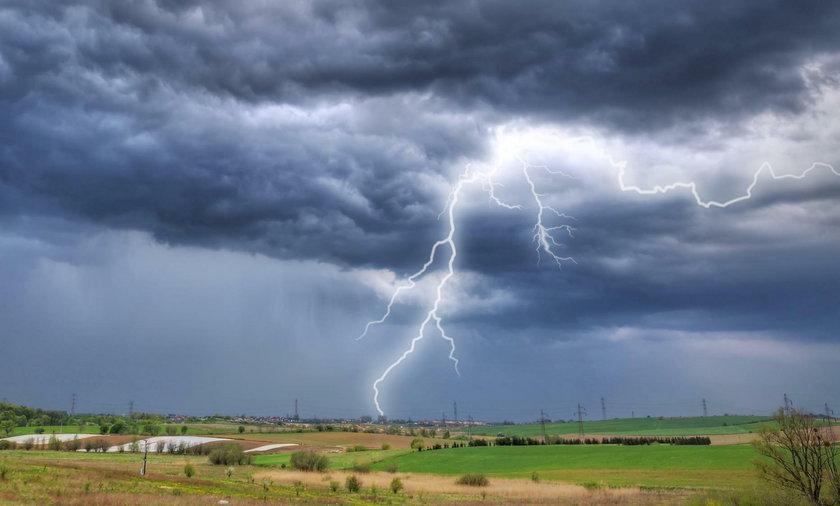 Burza nad Katowicami