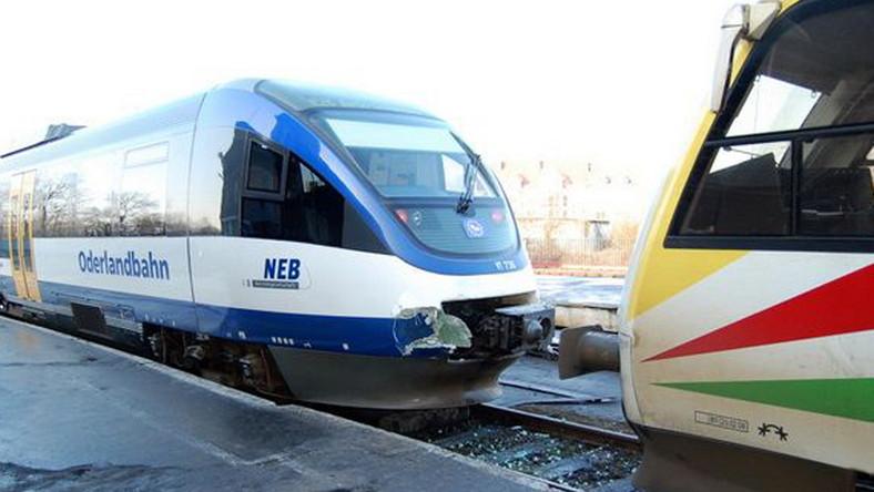 Polsko-niemieckie zderzenie pociągów w Kostrzynie