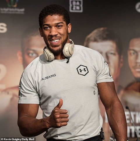 Anthony Joshua has an opportunity to exert revenge on Ruiz (Kevin Quigley/Daily Mail)