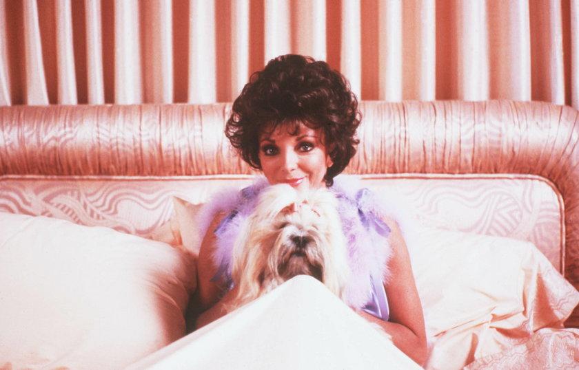 """Joan Collins jako Alexis w """"Dynastii"""""""