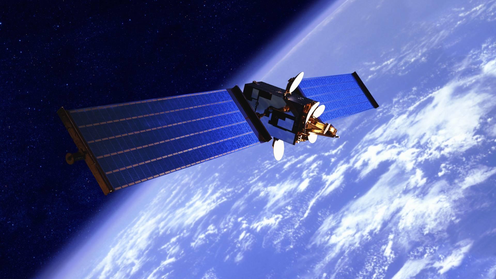 Russische Satellit