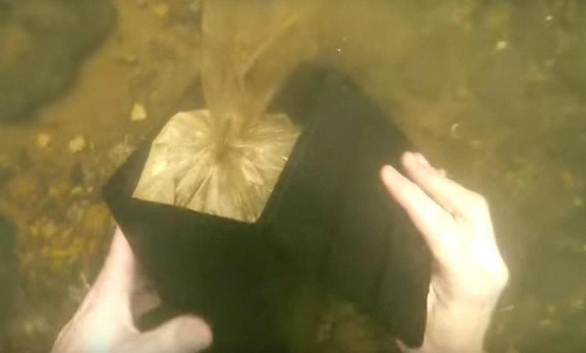 USA. Youtuber szukał skarbów w rzece Columbus, a znalazł prochy