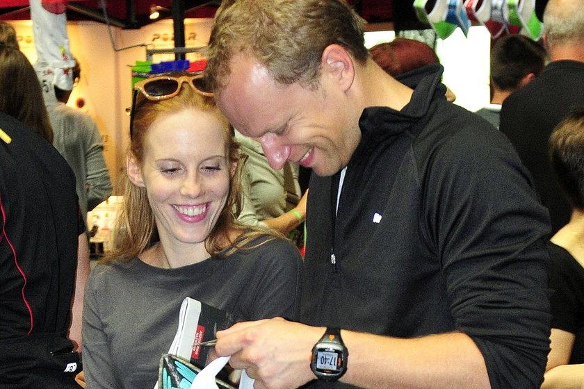 Maciej Stuhr i Katarzyna Błażejewska