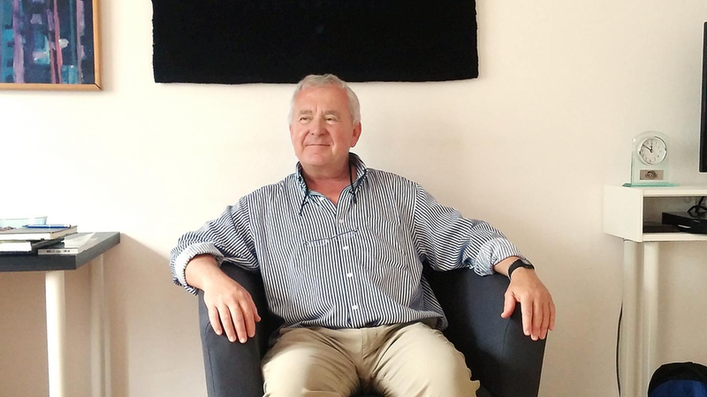 Prof. Bohdan Oppenheim, wykładowca Loyola Marymount University i współpracownik SpaceX