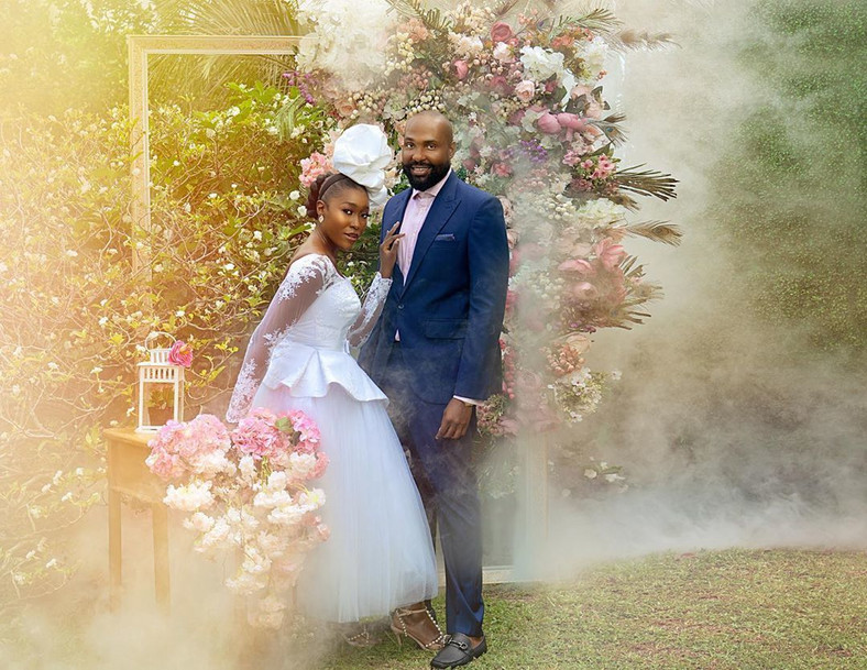 Let's just say she won't be living Nigeria anytime soon as she recently tied the knot with her hubby, Andrew Ekpenyong. [Instagram/TheVimbai]