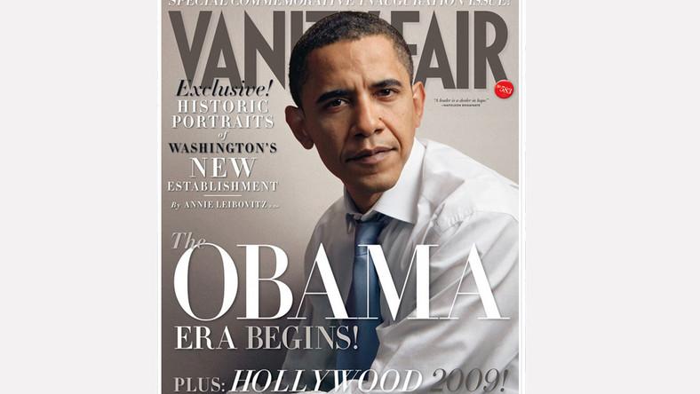 """Sesja gabinetu Obamy dla """"Vanity Fair"""""""