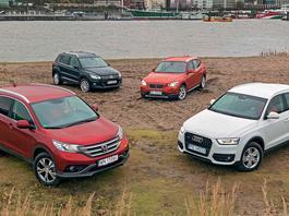 Prestiż czy zdrowy rozsądek? Sprawdzamy trwałość Audi Q3, BMW X1, Hondy CR-V i Volkswagena Tiguana