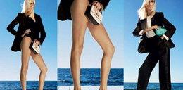 Dłuuugie nogi Anji Rubik w kampanii Zanotti