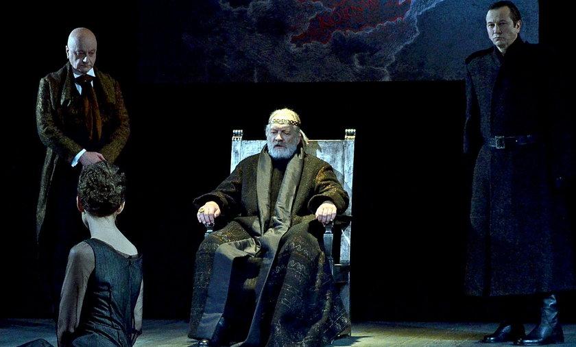 Król Lear premiera w Teatrze Polskim.