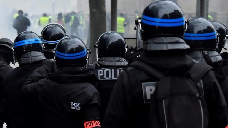 "French police say they have been stretched to the limit after weeks of ""yellow vest"" anti-government protests which have often degenerated into violence"