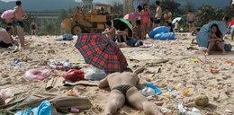 Klniecie na zasyfioną plażę w Łebie? To jest prawdziwy chlew!