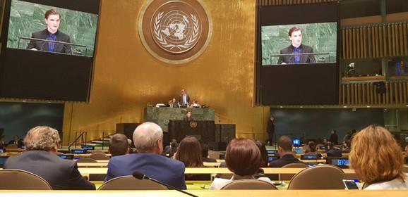 Brnabić u UN