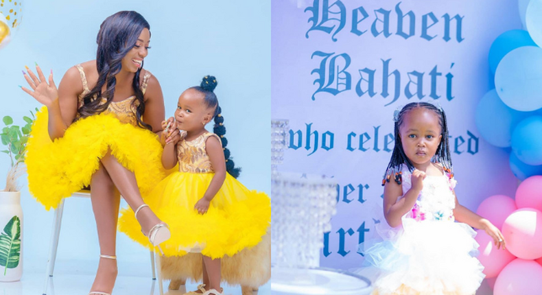How Heaven Bahati's Birthday Party went down upon turning 3 (Photos)