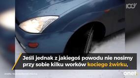Te zimowe triki przydadzą się każdemu kierowcy!