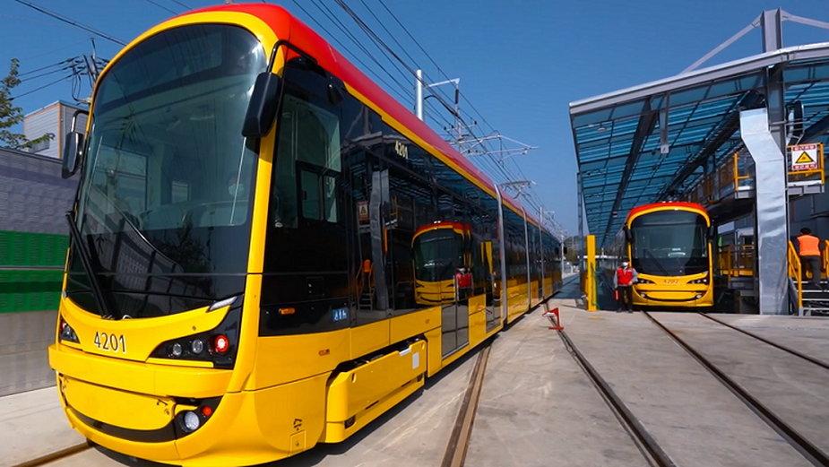 Takie będą nowe tramwaje dla Warszawy