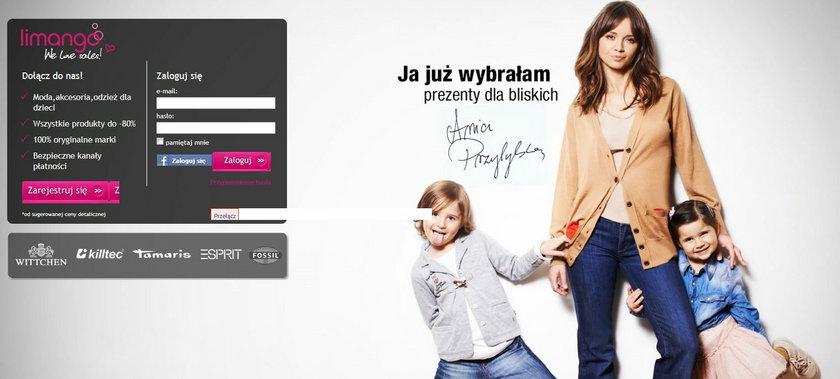 Anna Przybylska w reklamowej sesji zdjęciowej