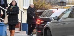 Tak kolumna z prezesem PiS pędziła przez Warszawę [ZDJĘCIA]
