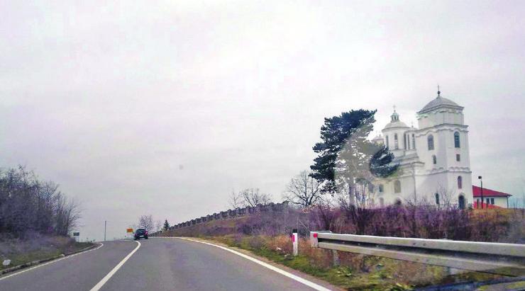 Prokuplje neygoda se dogodila u blizini kondzeljske crkve foto Ljubisa Mitic