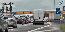 Kierowcy zbulwersowani korkami na A1