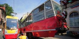 Zderzenie tramwajów na Zielonej