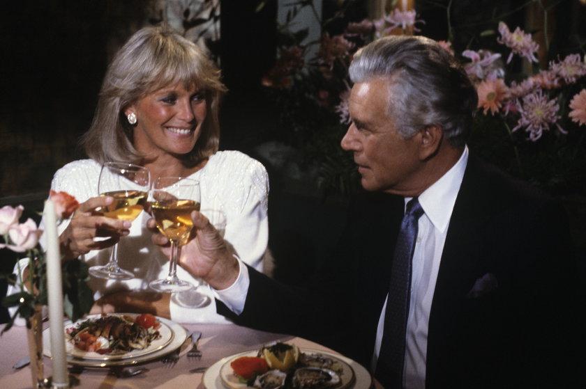 Linda Evans i John Forsythe