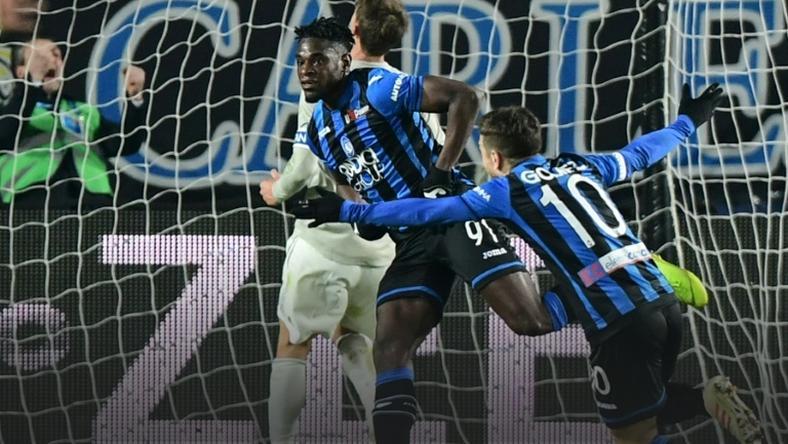 Colombian Zapata has now scored 20 goals for Atalanta this season