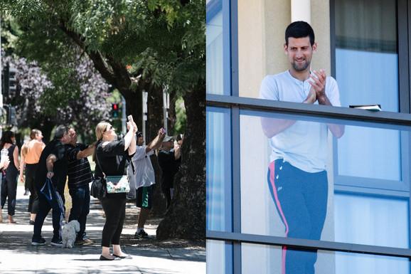 Neverovatna scena usred Australije, Novak na STUBU SRAMA - a onda su mu dva klinca došla pred hotel i o tome sada priča svet /VIDEO/