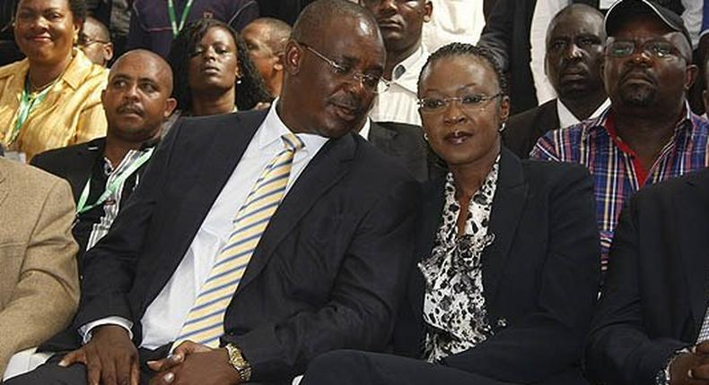 """Evans Kidero's wife, Susan Mboya, hits out at politicians who steal to """"become instant billionaires"""