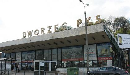 Dworzec PKS szpeci miasto