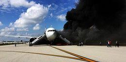 Samolot wbił się w budynek portu lotniczego