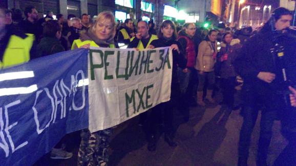 Protest zbog mini-hidroelektrana