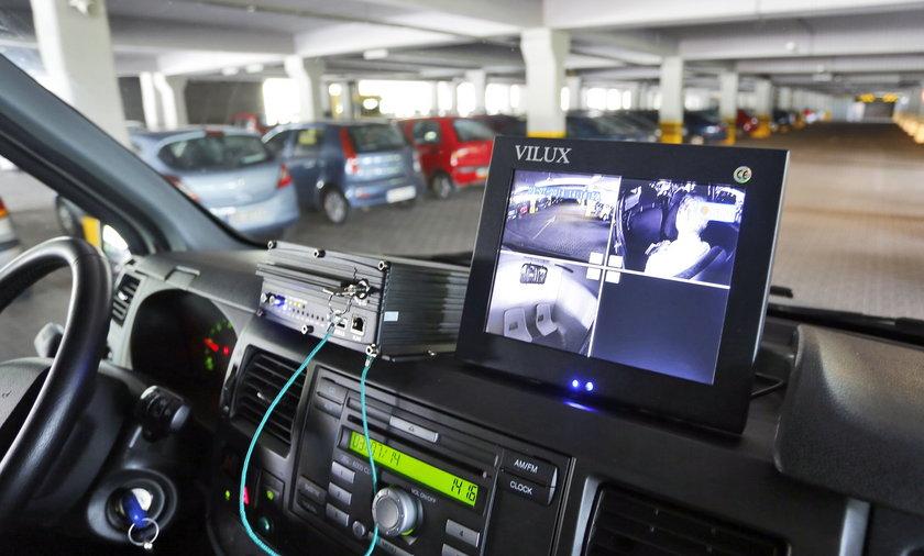 Monitoring w radiowozach strazy miejskiej