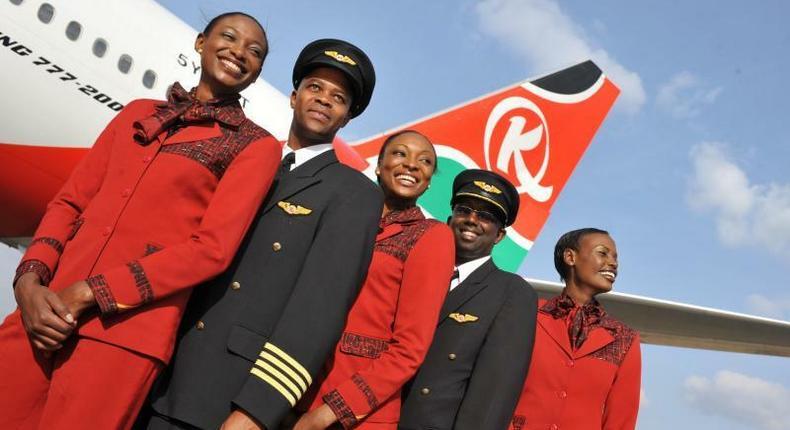 Tens of Kenya Airways workers sent to be sacked as KQ nationalisation kicks off