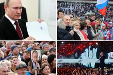 Putin kolaž