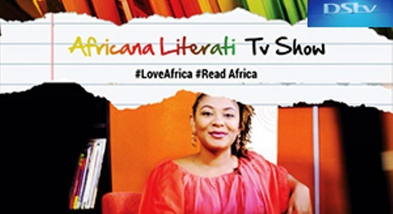 A shot from the set of Africana Literati
